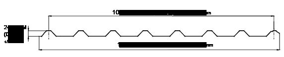 Lámina de acero tr-101