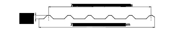 Lámina de acero tr-72